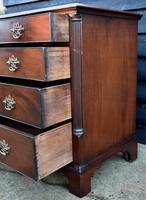 Good Quality Georgian Mahogany Chest of Drawers with Quarter Columns c.1760 (5 of 9)