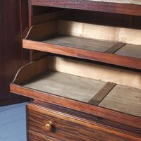 George III Mahogany Linen Press c.1800 (10 of 13)
