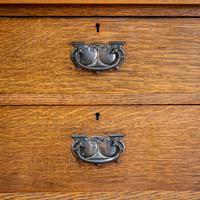 Arts & Crafts Mirror Backed Sideboard (13 of 14)