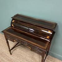 Spectacular Quality Victorian Rosewood Inlaid Antique Writing Desk (8 of 12)