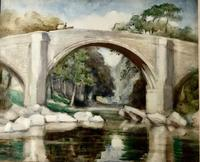 Ella Coates, Watercolour -The Devil's Bridge, Lowdale (2 of 2)