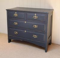 Pitch Pine Painted Chest of Drawers (10 of 11)