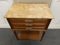Quality French Marble Top Chest of Drawers (5 of 16)