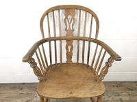 19th Century Beech & Elm Windsor Armchair (3 of 7)