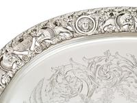 Sterling Silver Tea Tray by Mappin & Webb Ltd - Antique Victorian 1894 (5 of 12)