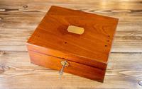 Georgian Mahogany Table Box 1810 (7 of 8)