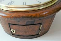 """Superb 12"""" English Fusee Dial Timepiece by Thomas Saunders 1835 (5 of 8)"""