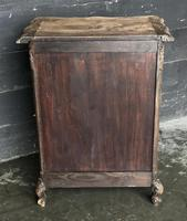 Antique Bleached Oak French Chest of Drawers (4 of 8)