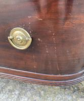 Regency Mahogany Bow Fronted Column Chest of Drawers (18 of 21)