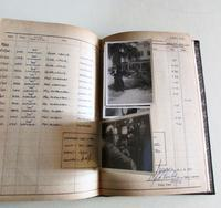 1950's Hand Written  Flying Log Book  with Photographs (3 of 7)