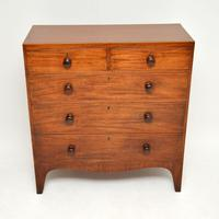 Antique Georgian  Mahogany Chest of Drawers (5 of 11)