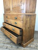 19th Century Antique Pine Housekeepers Cupboard (M-879) (4 of 13)