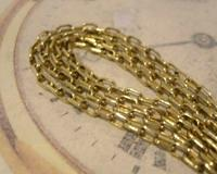 Edwardian Ladies Pocket Watch Guard Chain Antique 10 Gold Filled (7 of 10)