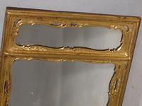 Three Part 19th Century Period Giltwood Mirror (3 of 3)