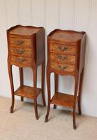 Pair of Tulipwood Bedside Cabinets (3 of 10)