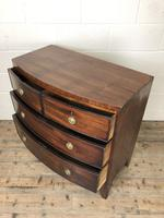 Georgian Mahogany Bow Front Chest of Drawers (7 of 16)