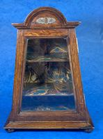 Victorian Oak Miniature Display Cabinet (9 of 11)