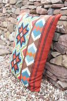 Swedish 'Folk Art' Vintage Large Woven Röllakan Cushion c.1930 (26 of 26)