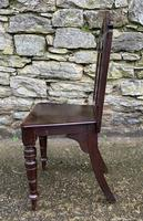 Antique Gothic Oak Hall Chair (5 of 13)