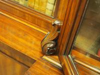 Victorian Mahogany Breakfront Cabinet Bookcase (5 of 19)