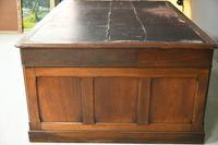 Large Victorian Mahogany Partners Desk (8 of 13)
