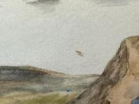 19th Century Scottish Highlands Watercolour Loch Kishorn By William Leighton Leitch (21 of 36)