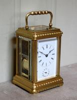 Bell Striking and Repeating and Alarm Gorge Case Carriage Clock (7 of 11)