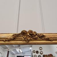 Antique French Gilded Flower Mirror (5 of 8)