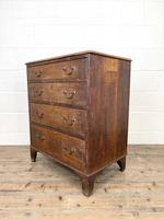Georgian Oak Small Chest of Drawers (6 of 10)