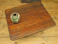 Small Industrial Antique Vono Cart Trolley Coffee Table with Bakelite Castors (13 of 17)