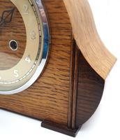 Art Deco Hat Shaped Mantel Clock – Striking 8-day Arched Top Mantle Clock (6 of 10)