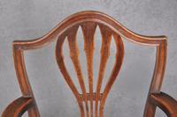 18th Century Mahogany Hepplewhite Armchair (7 of 10)