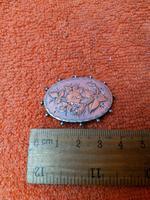 Antique Sterling Silver & Rose Gold Brooch 1887 J W Tiptaft & Son Ltd (4 of 5)