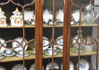Antique Chinese Chippendale Mahogany Display Cabinet (10 of 13)