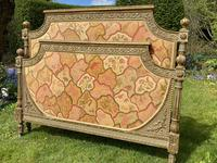 Gilded & Painted French Double Bed (4 of 7)