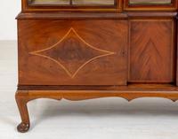 Quality Sheraton Revival Mahogany Display Cabinet (2 of 9)