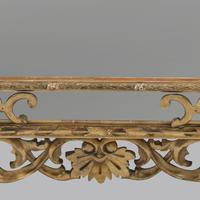 Large 19th Century Carved Giltwood Marginal Overmantle Mirror (7 of 16)