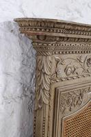 Fabulous Carved French Caned Kingsize  Headboard (5 of 6)