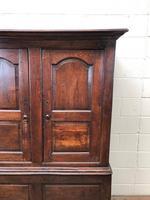 Large Antique 18th Century Welsh Oak Press Cupboard (M-808) (6 of 18)