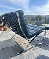 Pair of Barcelona Chairs & Ottoman (9 of 30)