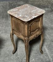 Pair of French Marble Top Bedside Cupboards (16 of 26)