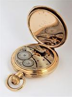 1930s Vertex Half Hunter Pocket Watch (5 of 6)
