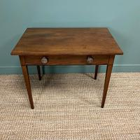 Fine Country Georgian Mahogany Antique Side / Writing Table (5 of 6)