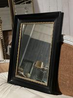French Ebonised 19th Century Wall Mirror (5 of 16)