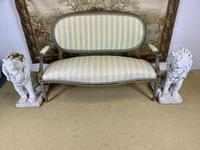 French Gilt Painted Two Seater Settee (2 of 8)