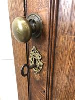 19th Century Antique Oak Corner Cupboard (5 of 7)