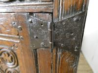19th Century Carved Oak Cupboard / Dresser (12 of 16)