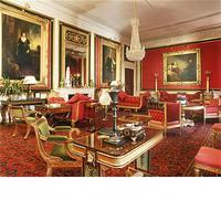 Rare Regency Giltwood & Silk Upholstered Daybed after Morel & Hughes (12 of 13)