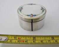 Beautiful silver and Enamel stamp-roll box Austria c1920 (6 of 6)