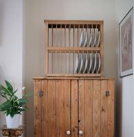 Antique Pine Freestanding Plate Rack (2 of 20)